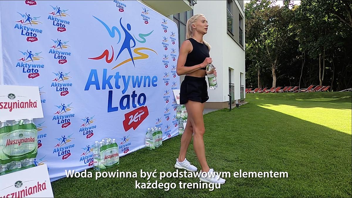 Rozgrzewka: Aktywne Lato w Radiem ZET i Muszynianka zapraszają w te wakacje do wspólnych ćwiczeń. Ćwiczenia opracowuje i prowadzi Martyna Biela...