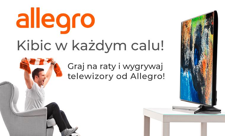 Wygraj telewizor od Allegro
