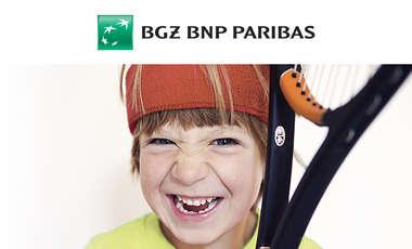 BGŻ BNP PARIBAS - Dzieciaki do rakiet