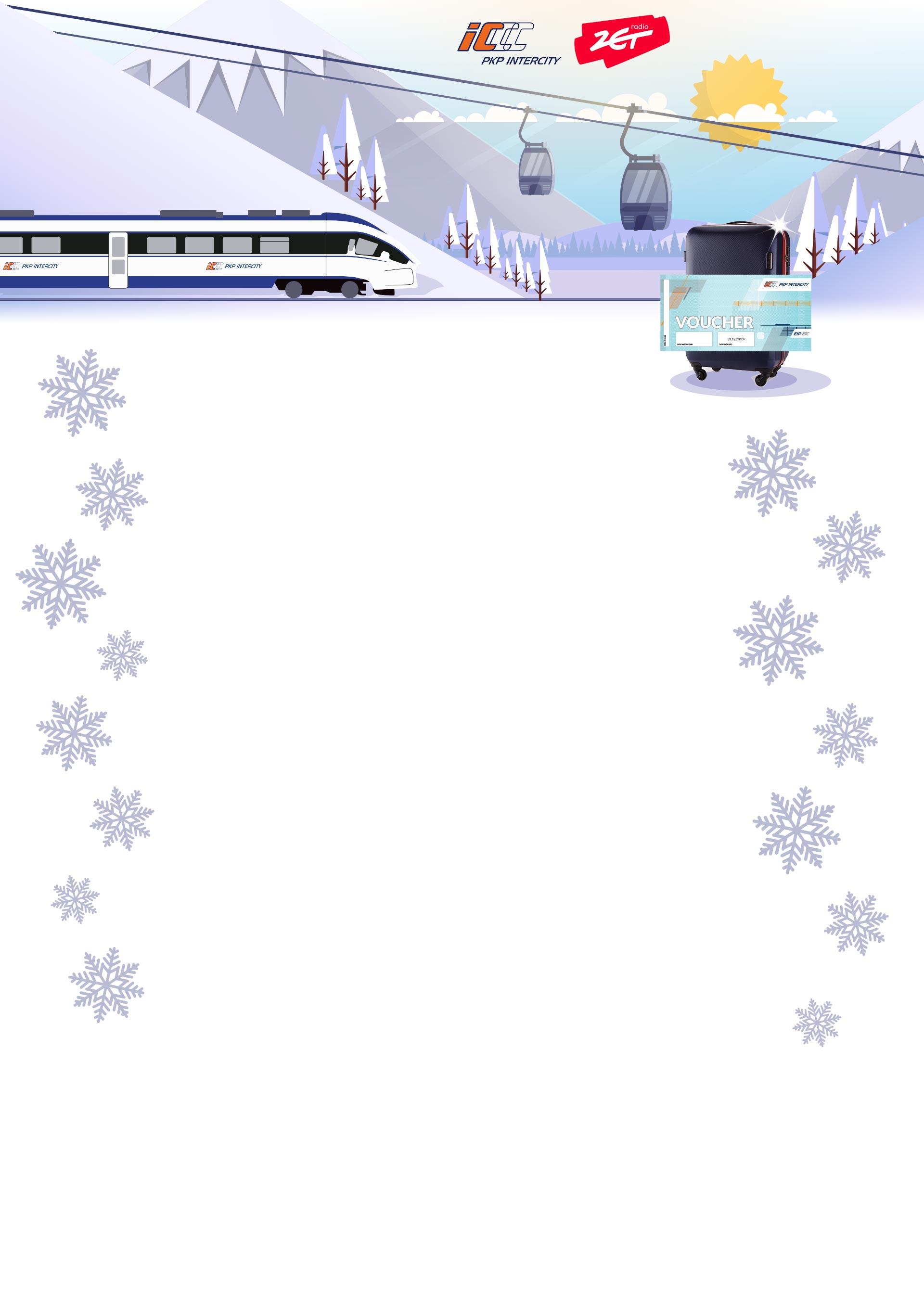 Wygraj rodzinny bilet na pociąg i wielką rodzinną walizkę na bagaże [KONKURS]