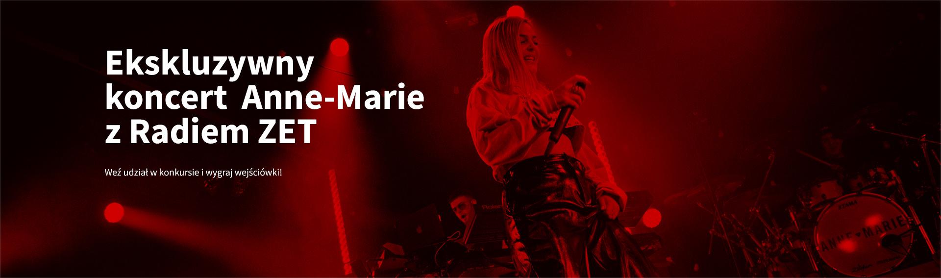 Zobacz ekskluzywny koncert Anne-Marie [ZAKOŃCZONY]