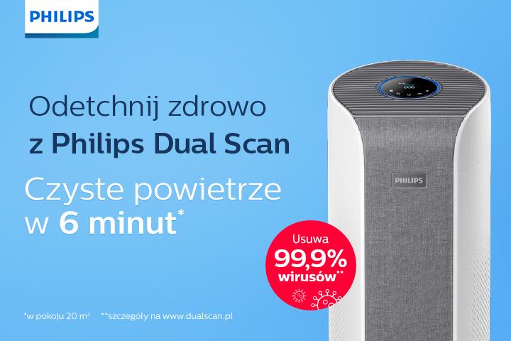 Odetchnij zdrowo z Philips Dual Scan