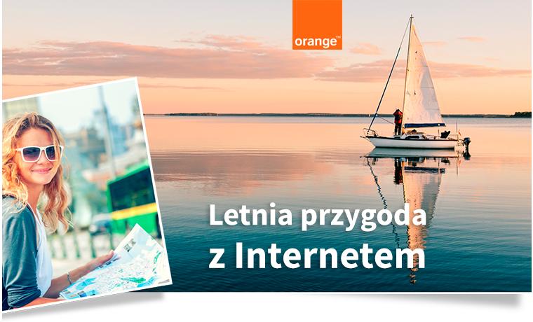 Orange Letnia przygoda z internetem