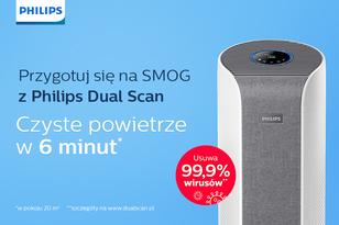 Przygotuj się na smog z Philips Dual Scan