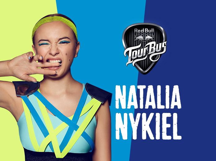 Red Bull Tour Bus z Natalią Nykiel