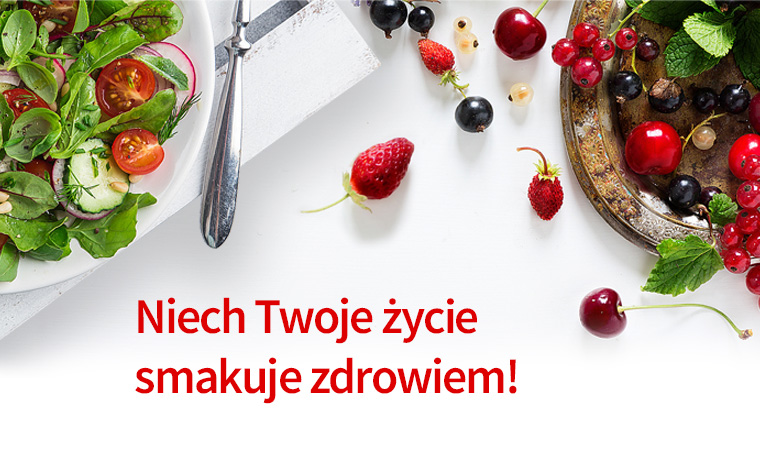 Smaki zdrowia - prześlij nam zdrowy przepis na niskokaloryczną przekąskę i wygraj gotówkę na zakupy!