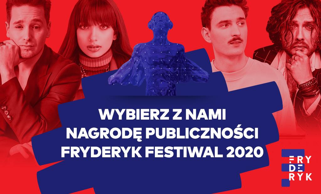 Wybierz z nami Nagrodę Publiczności Fryderyk Festiwal 2020