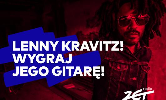 Gitara Lenny'ego Kravitza z autografem i bilety na koncert w Łodzi do wygrania w Radiu ZET!