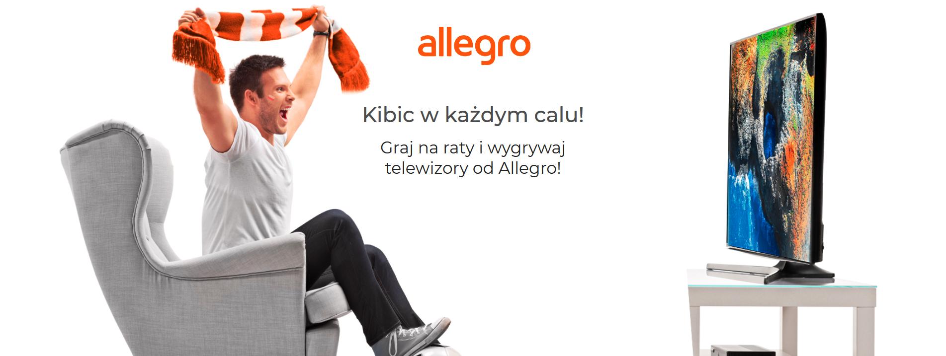 Wygraj telewizor od Allegro! Zobacz hasło