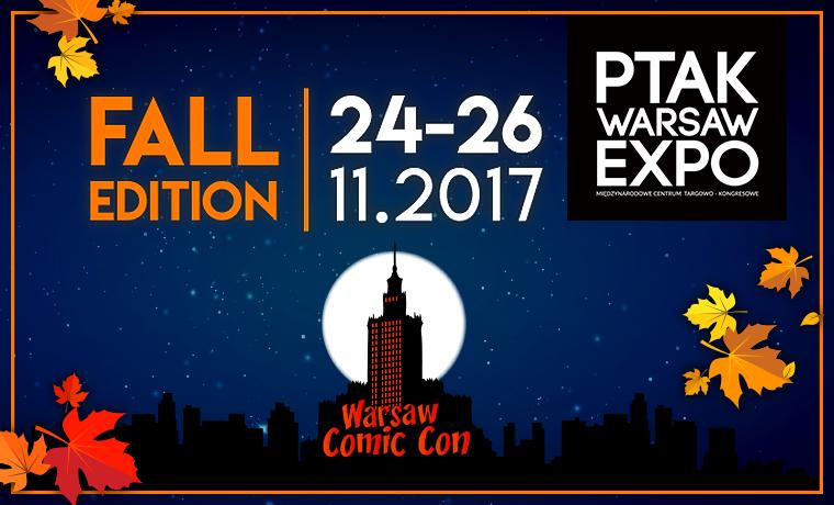 Zaproszenia na Comic Con Fall Edition 2017 w Radiu ZET!