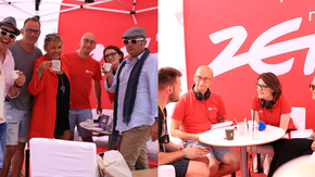 Kabaret pod Wyrwigroszem oraz Xxanaxx na ZET Cafe – zobacz, jak rozbawiali nas w Krakowie [WIDEO]