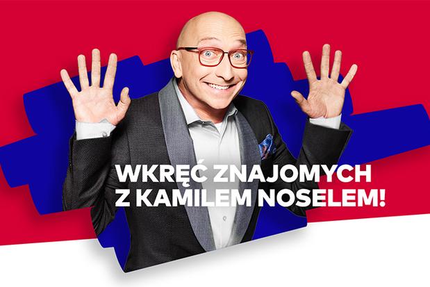 Wkręć znajomych z Kamilem Noselem