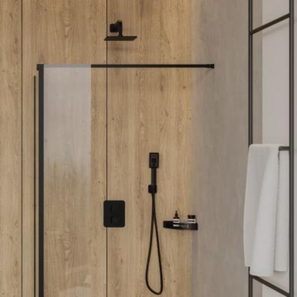 Nowoczesna łazienka w drewnie